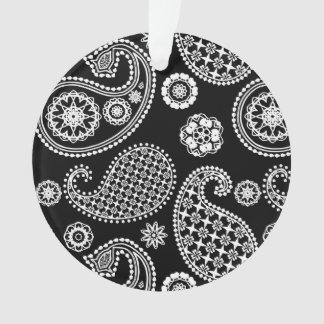 Paisley pattern, Black and White
