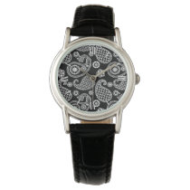 Paisley pattern, Black and White Watch