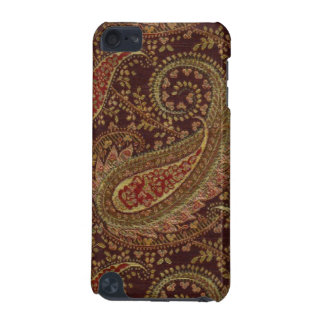 Paisley Pattern Cherry Olive Gold Speck iPod Case iPod Touch (5th Generation) Case