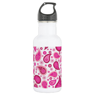 Paisley Pattern Image Water Bottle