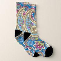 Paisley Pattern Socks