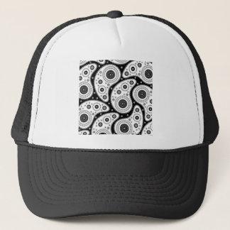 Paisley Pattern Trucker Hat
