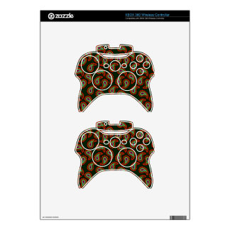 Paisley Pattern Xbox 360 Controller Skin