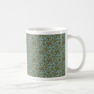 Paisley Patterned Coffee Mug