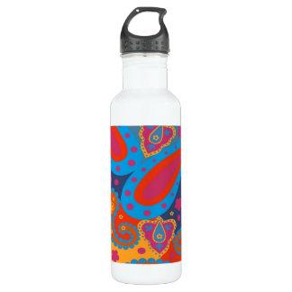 paisley 24oz water bottle