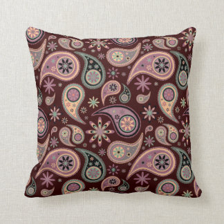Paisley Pillow - Pink Candy - 2