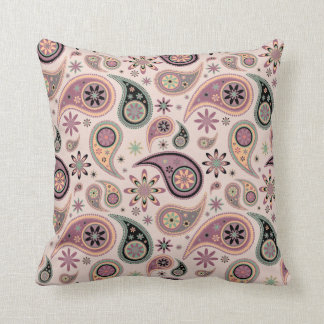 Paisley Pillow - Pink Candy - 3