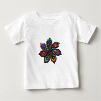 Paisley Pinwheel of Colors Baby T-Shirt