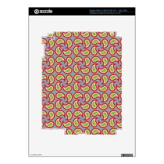Paisley Pizazz Skin For iPad 3
