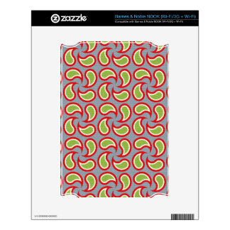 Paisley Pizazz Decal For The NOOK