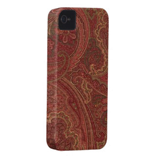 Paisley Plum Olive Blackberry Bold 9700/9780 iPhone 4 Cover