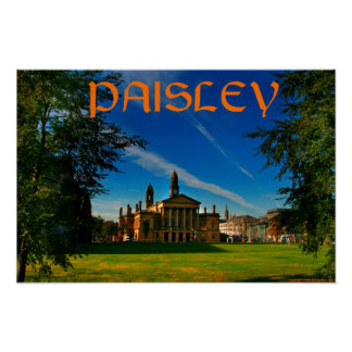 paisley poster