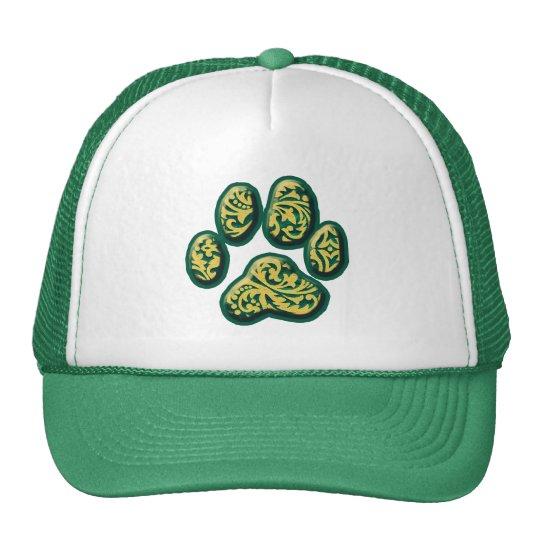Paisley Puppy Print Trucker Hat