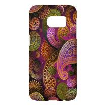Paisley Purple Samsung Galaxy S7 Case