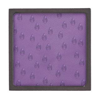Paisley Purple Tears Jewelry Box