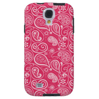 Paisley rosada Cerise; Floral