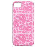 Paisley rosada iPhone 5 Case-Mate coberturas