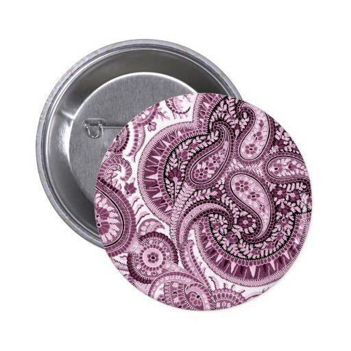 Paisley rosada pin