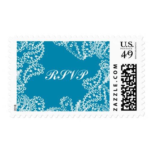 Paisley RSVP Stamp