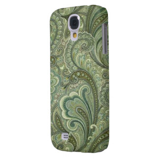 Paisley Sage Case-Mate HTC Vivid Tough Samsung Galaxy S4 Case