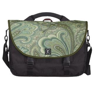 Paisley Sage Laptop Bag
