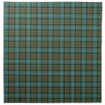 Paisley Scotland District Tartan Cloth Napkin