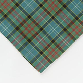 Paisley Scotland District Tartan Fleece Blanket