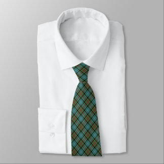 Paisley Scotland District Tartan Neck Tie