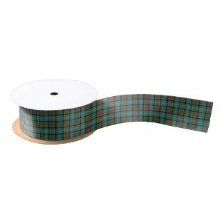 Paisley Scotland District Tartan Satin Ribbon