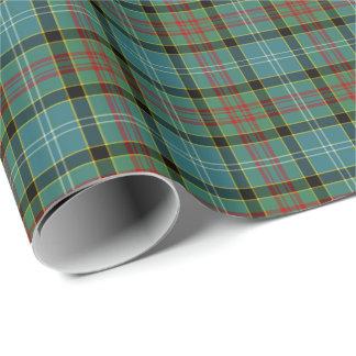 Paisley Scotland District Tartan Wrapping Paper