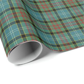 Paisley Scotland District Tartan Gift Wrap