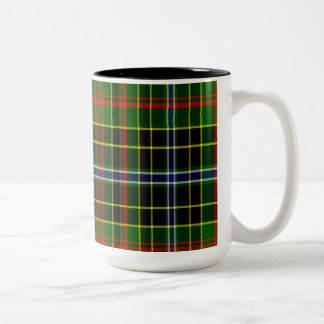 Paisley Scottish Tartan Two-Tone Coffee Mug