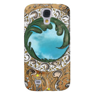 Paisley&sky 3G iphone cover Samsung Galaxy S4 Cover