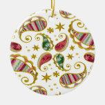 Paisley Solstice Ornament