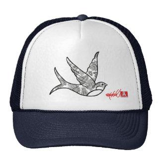 Paisley Sparrow Hat