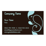 Paisley Splash Double-Sided Standard Business Cards (Pack Of 100)