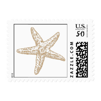 Paisley Starfish - Beachy Tan Postage