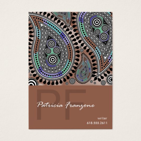Paisley Supreme Business Card template