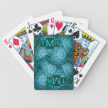 Paisley - Teal Playing Cards
