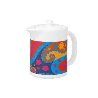 paisley teapot