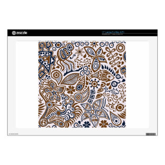 Paisley Themed Decals For Laptops