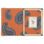 Paisley vintage girly floral damask henna pattern case for iPad air