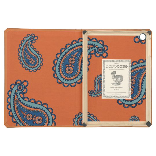 Paisley vintage girly floral damask henna pattern iPad air cases