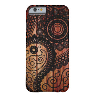 paisley wood panels barely there iPhone 6 case