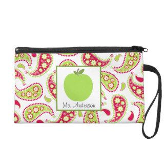 Paisley y mitón verde de Apple para los profesores