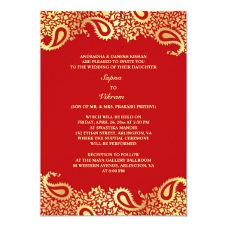 Indian Wedding Invitations & Announcements | Zazzle