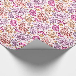 Paisleys en colores pastel gigante -2 - papel de papel de regalo