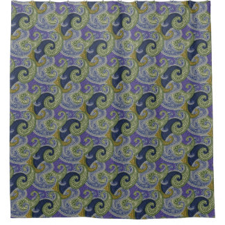 Curtains Ideas blue paisley shower curtain : Purple Paisley Shower Curtains | Zazzle