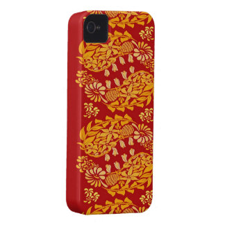 Paisleys Indian iPhone 4/4S Case-Mate Barely There