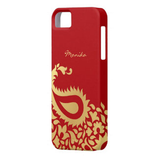 Paisleys Indian Red iPhone 5 Cover